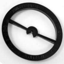 "Mason Jar Wick Centering Tool - Standard 2.5"" Mason Jar/Jelly Jar - 12 Pack"