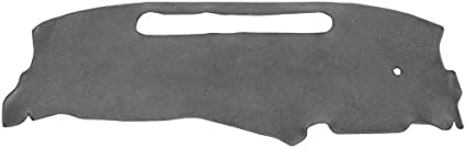 Hex Autoparts Dashboard Mat Dash Cover Pad Replacement for Chevy S10 1998 1999 2000 2001 2002 2003 2004 Gray