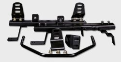 Buddy Club 350z (Buddy Club BC08-RSBSRZ33-L Racing Spec Left Side Seat Rail for Nissan 350z / Infiniti G35)