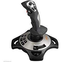 PC Flight Joystick Vibration Flying Simulator Gaming Controller (win7/win10) 4 Axles Flying