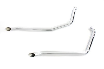 V-Twin 30-2166 - Exhaust Drag Pipe Set -