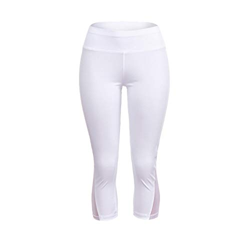 Mayunn Womens Solid Mesh Patchwork Leggings Fitness Tight Yoga Athletic Hip-Lift Yoga Pants
