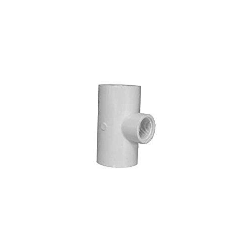 Genova 31488 Solvent Weld Pipe Reducing Tee Pack of 7