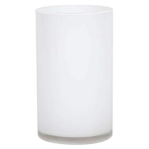 Vickerman Glass Container 10 White