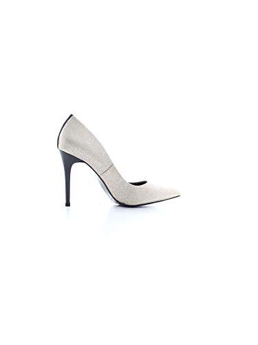 tacón E0 Mujer Jeans Zapatos HSBS01 de Oro Versace 901 70811 TFAxpq