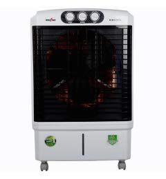Kenstar ICECOOL (KCIICF1W-FMA) Air Cooler - 60 Litres 2021 July Capacity - 60 l ,Peaceful and sound sleep without the need to fill up water tank and have a prolonged cooling effect. Mosquito Net / Dust Filter Prevents mosquitos, small insects and flies from getting into cooling pads which helps in keeping the air cleaner. Water Level Indicator One can easily check the water level in the water tank effortlessly without opening the cooling pads.