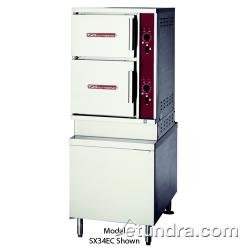 Southbend ECX 16 Electric Floor Model Two Compartment Convection Steamer  36u0026quot; Cabinet Base