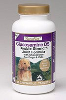 Glucosamine DS Double Strength Joint Formula for Dogs and Cats - 60 tablets
