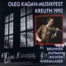 Oleg Kagan: Musikfest Am Tegrernsee, Kreuth 1992 by Live Classics