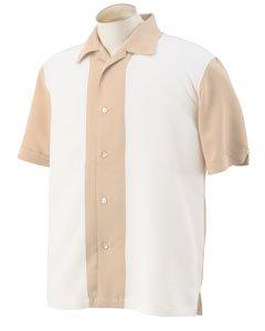 Harriton Men's Two-Tone Bahama Cord Camp Shirt