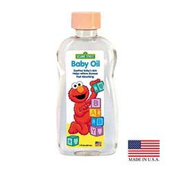 Blue Cross Laboratories 693-4 PEC 7 oz Clear Sesame Street Baby Oil - Pack of 24 by BLUE CROSS LABORATORIES