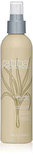 (ABBA Curl-Prep Spray Lemongrass & Orange Oil, 8 Oz)
