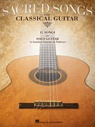 Hal Leonard Sacred Songs For Classical Guitar (Standard Notation & Tab) Songbook from Hal Leonard