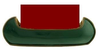 Canoe Business Card Holder, Green