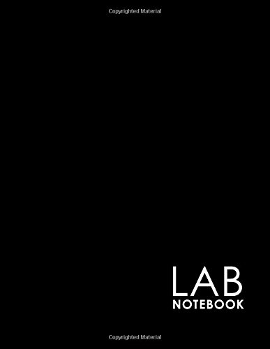 Download Lab Notebook: Lab Notebook Blank Pages, Organic Chemistry Lab Notebook, Lab Notebook Grid, Chemistry Lab Notebook, Minimalist Black Cover (Volume 15) pdf