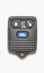 MAZDA GD7D-675DY Factory OEM KEY FOB Keyless Entry Remote Alarm Replace