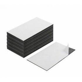 Etichette Magnetiche Adesive 8/cmx3/cm/ spessore 0.8/mm 123-magnet /Set di 50/pcs