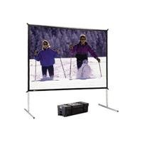 Da-Lite Fast-Fold Deluxe Screen System HDTV Format - Projection screen - 132 in ( 335 cm ) - 16:9 - Ultra Wide Angle