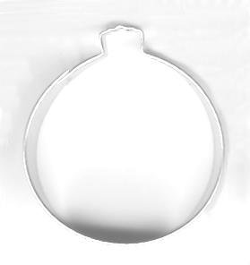 Amazon.com: Christmas Ornament Metal Cookie Cutter: Kitchen & Dining