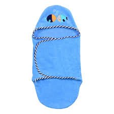 Amazon.com : Koala Baby Newborn Bath Wrap-Blue : Baby