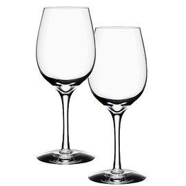 Orrefors 6293105 Taste White Wine Glass - 2 - Orrefors Glass Glass Wine White