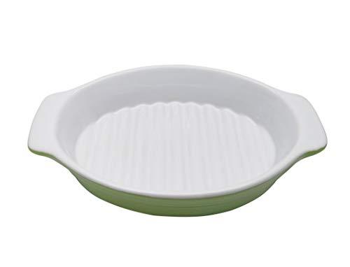 Excelity Ceramic Baking Lasagna Casseroles Pan Roasting Dish,Size:9.0