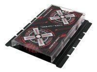Evercool HD-CW Cool Wheel Hard Drive Cooler (Black Cover, Red Fan) SKU: HD-CW