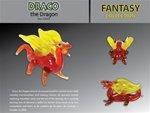 1 X Looking Glass Torch - Draco Dragon - Ltd Ed Miniature