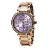 Michael Kors Women's Parker Watch, Rose Gold/Lavender, One Size