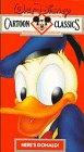 Walt Disney Cartoon Classics Vol. 2: Heres Donald [VHS]