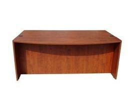 Boss Office Products N189-C Bow Front Desk Shell in - Executive Bow Desk Front