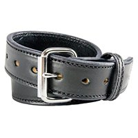 Relentless Tactical The Ultimate Concealed Carry CCW Leather Gun Belt - New and Improved - 14 Ounce 1 1/2 inch Premium Full Grain Leather Belt - Handmade in The USA! Black Size 50 by Relentless Tactical (Image #2)