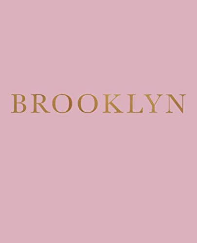 Brooklyn: A decorative book for coffee tables, bookshelves and interior design styling | Stack deco books together to create a custom look (Neighborhoods of New York in Blush)