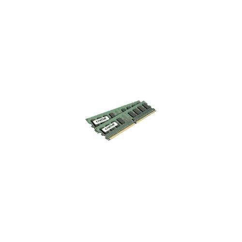 1gb Ddr2 Memory Module (CRUCIAL CT2KIT12864AA667 2GB ( 1GB x 2 ) 240-pin DDR2 667mhz non-ECC desktop memory module)