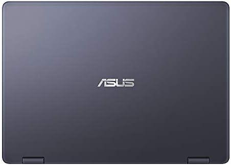 ASUS VivoBook Flip 2020 Premium Thin and Light 2-in-1 Laptop I 11.6″ HD Touchscreen I Intel Core Celeron N3350 I 4GB RAM 64GBeMMC I Office 365 Win 10 + Delca 16GB Micro SD Card 21S6ZRZSnLL