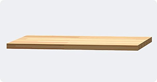 "Hercke Series 7 30'' Beech Work Surface Component – Modular Storage Cabinets (24""D x 30""W x 1.25""H)"