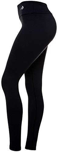 CompressionZ High Waisted Women's Leggings - Compression Pants for Yoga Running Gym & Everyday Fitness 2