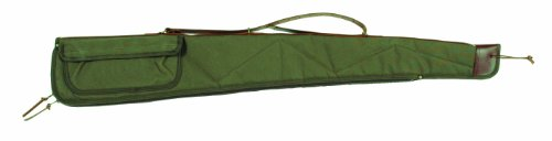 Bob Allen BA2100 Canvas Shotgun Case, Green, (Allen Canvas)