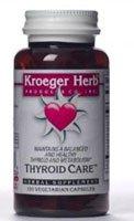 Kroeger Herb Thyroid Care 100 Cap