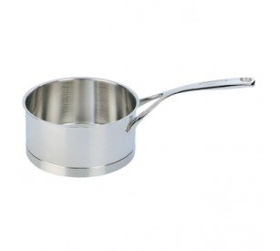 Demeyere Atlantis 3.2-Quart Covered Saucepan, Silver