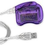 Lexar Media USB CompactFlash (CF) Memory Card Reader, Pur...