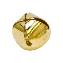3/4 inch Gold Jingle Bells-Bag of 100 by Craft Parts