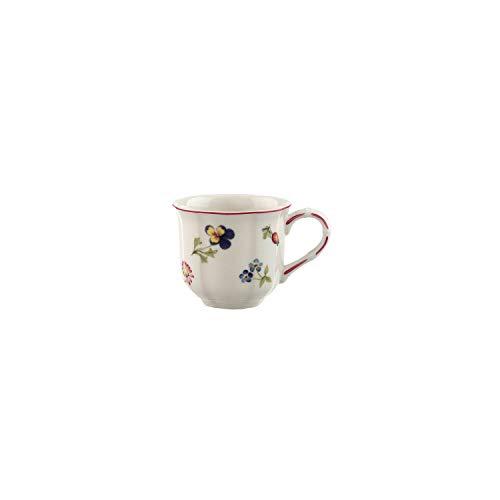 Villeroy & Boch Petite Fleur Mocha/Espresso Cup, 100 ml, Premium Porcelain, Multicolour