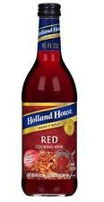 Holland House Cooking Wine, Red, 16 oz