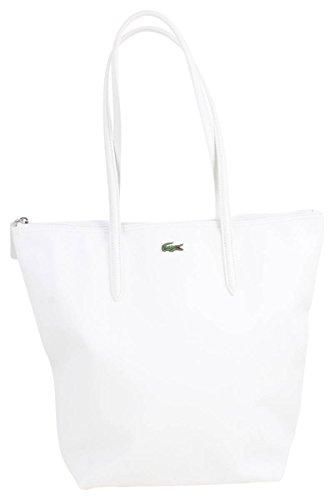 Lacoste L1212 Concept Vertical Shopper Tasche 35 cm Blanc 0MJGMEW2U