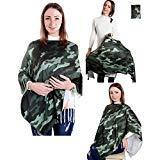 Nursing Cover Carseat Canopy Nursing Scarf Baby Breastfeeding Infinity Bassinet Wrap