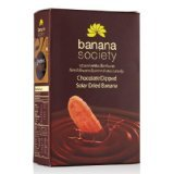 Product review for New Banana Society : Thai Chocolate Dipped Solar Dried Banana 8.82 Oz. OTOP 5 Stars Product of Thailand