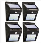 Solar Sensor Light Super Bright 20 LED Wireless Waterproof Solar Wall Outside Lighting Solar Security Light for Outdoor Deck Patio Backdoor Driveway Garage Garden