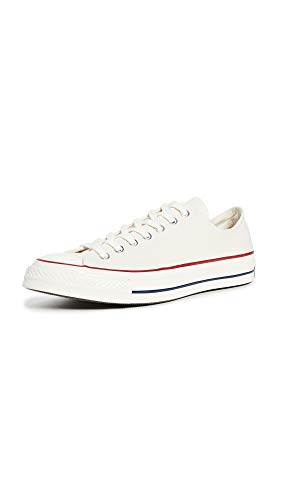 Converse Men's Chuck Taylor All Star '70s Sneakers, Parchment, Off White, White, 10 Medium US