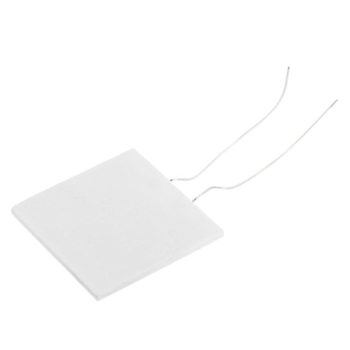 UXOXAS P-442 Mini 1W High Temperature Ceramic Electric Heating Plate - White (5V)